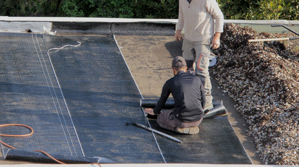 Commercial roof repair Atlanta